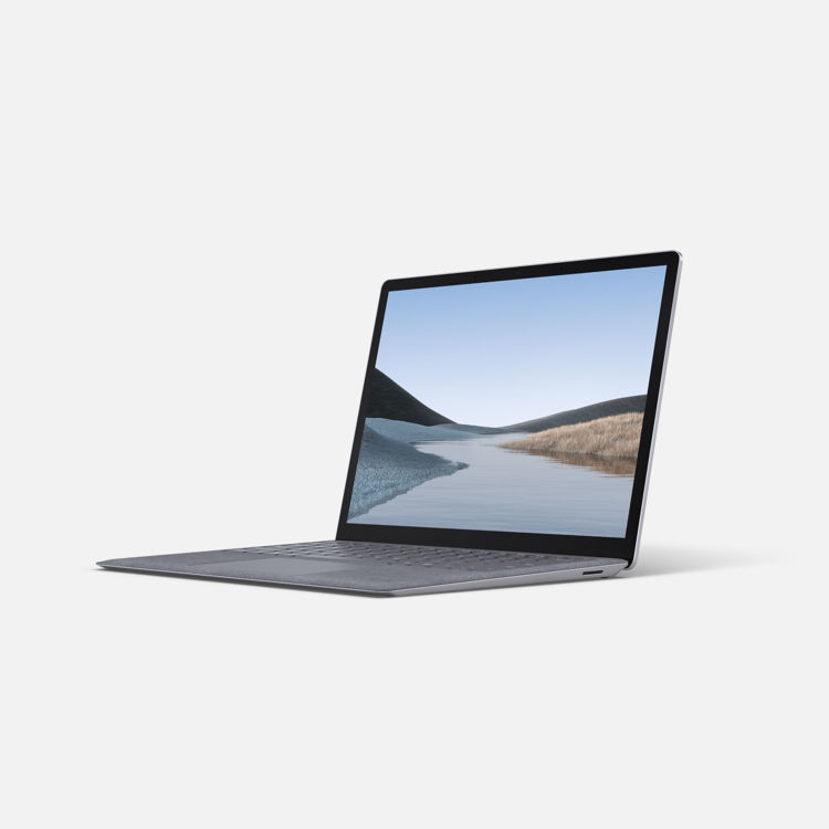 Laptop 13 - Platinum - Tilted
