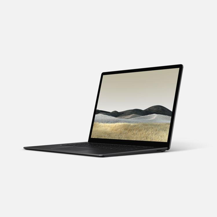 Laptop 3 - 15 - Black - Tilted