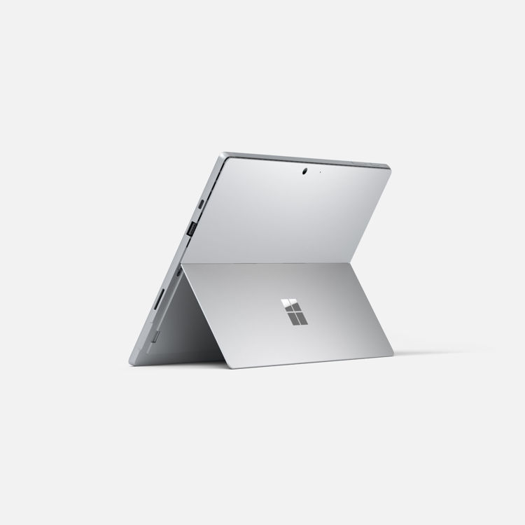 Surface Pro 7 - Back - Platinum