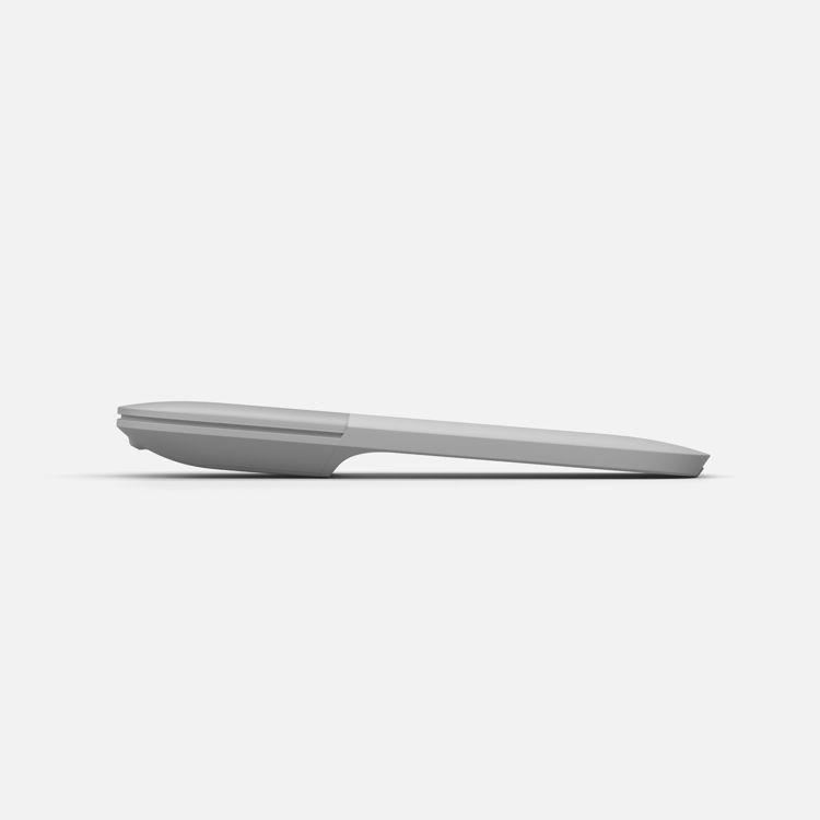 Surface Arc mús - Platinum - Flat side