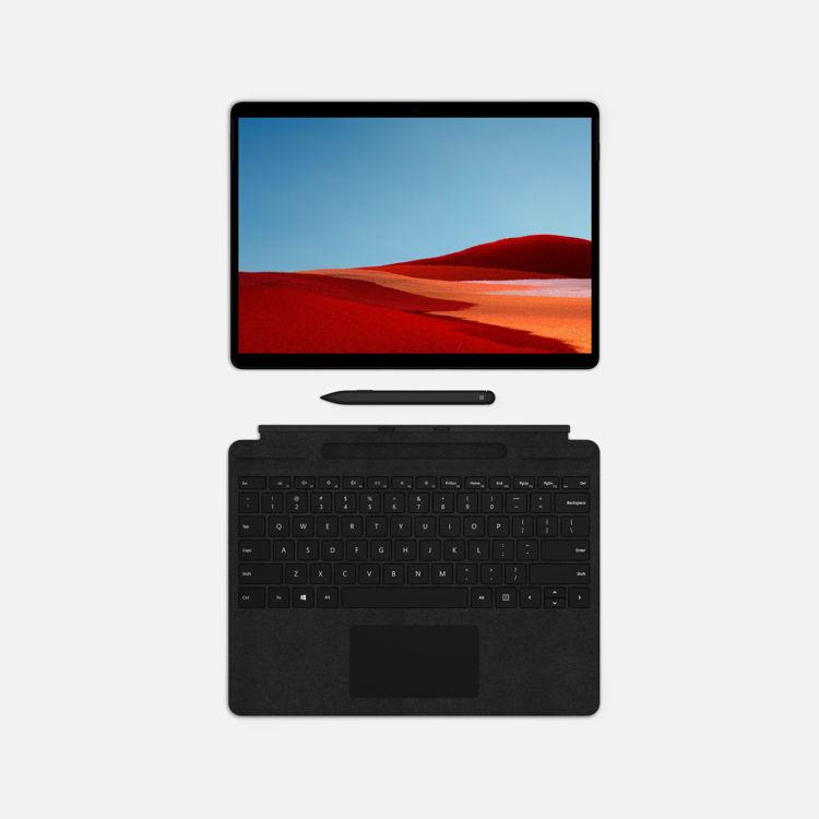 Surface Pro X Black - Lyklaborð með penna